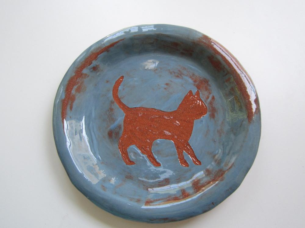 Blue Cat Plate 1.JPG