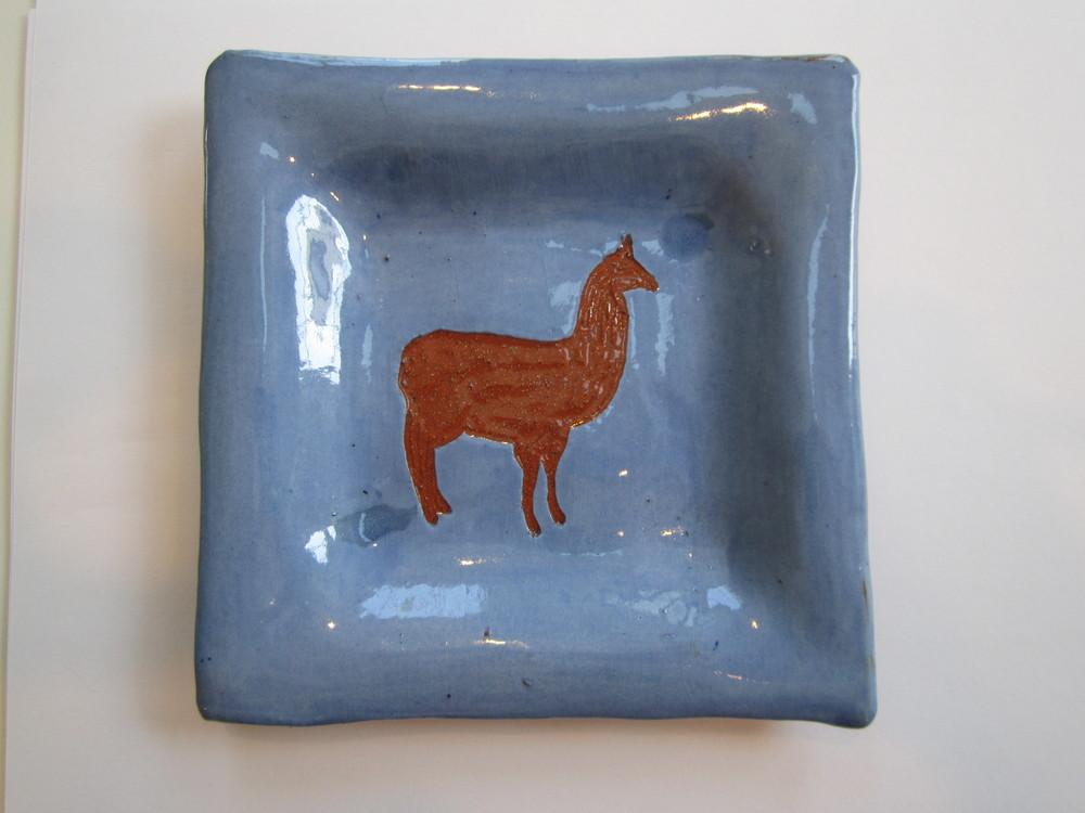 Blue Llama Plate 3.JPG