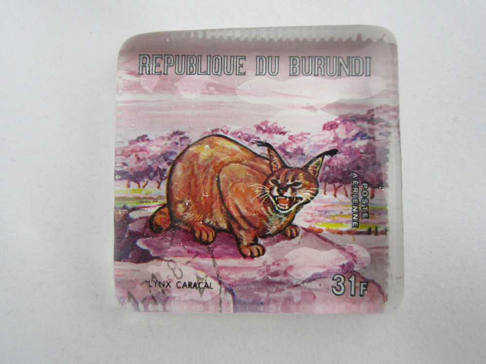 Caracal Stamp Paperweight 2.JPG