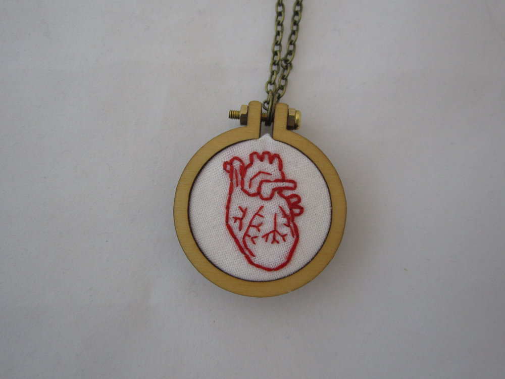 Heart Mini Hoop Necklace 3.JPG