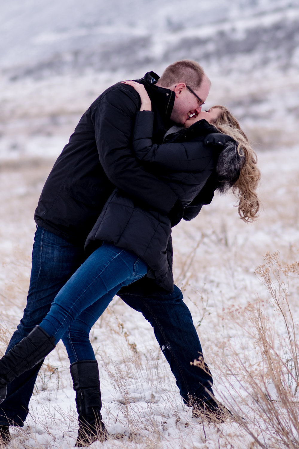 Horsetooth Reservior Engagement, Kristen Rush Photography