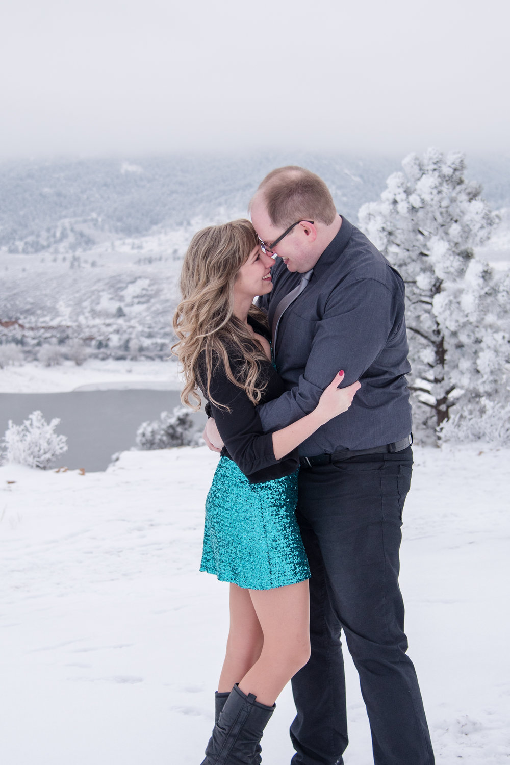 Horsetooth Engagement, Kristen Rush Photography