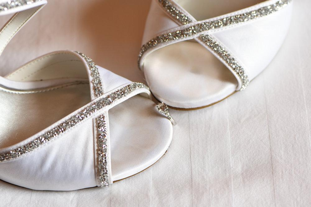 Wedding Shoes Kristen Rush Photography