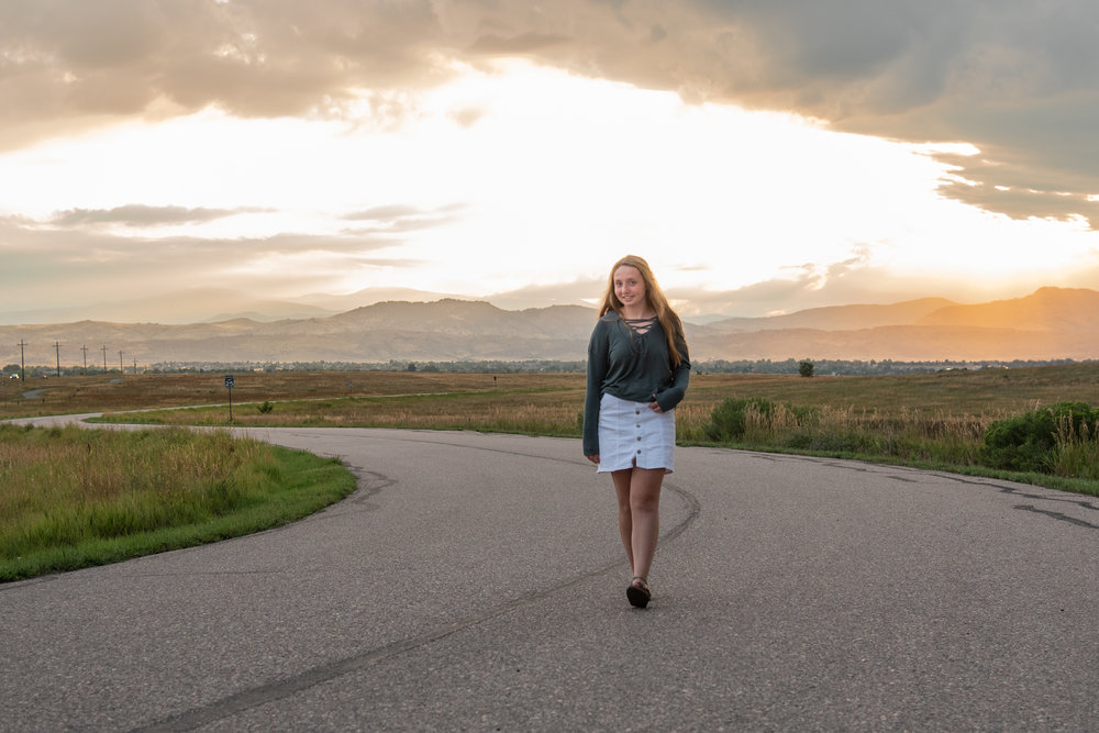 Fort Collins Senior Session Kristen Rush Photography