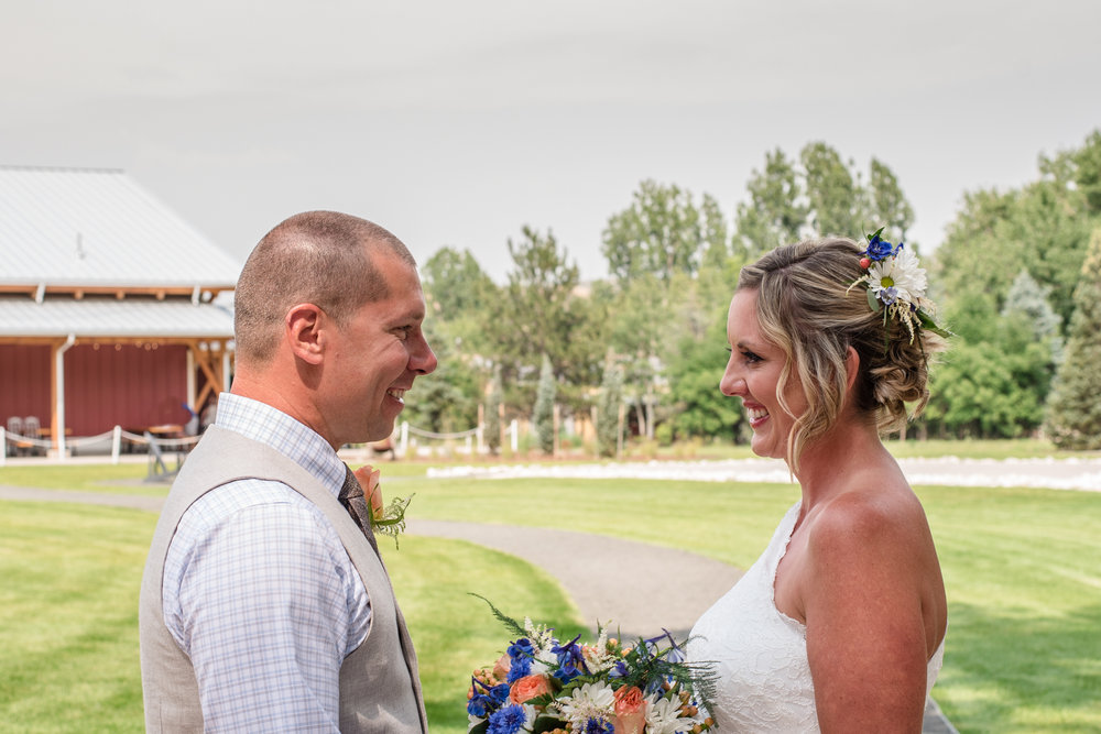 Sweetheart Winery Wedding Loveland, CO