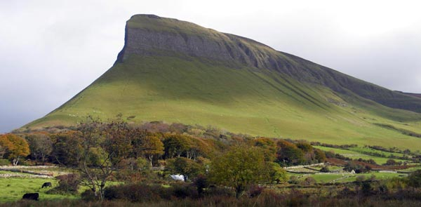"Hiking Benbulben  - ""Underneath Benbulben's head"" -WB Yeats."