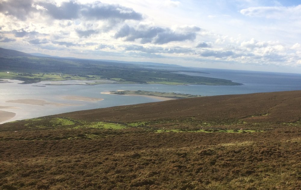 Hiking on Knocknarea