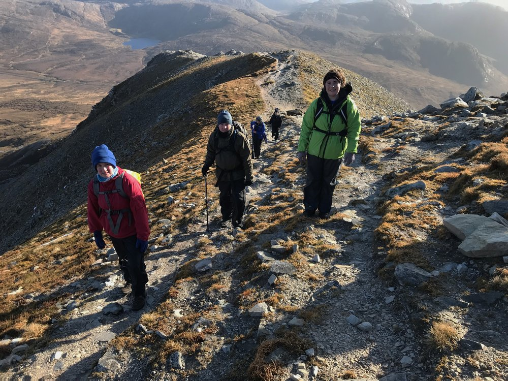 Summit ridge hike