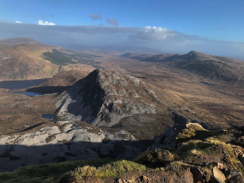View of Machoght from Errigal summit