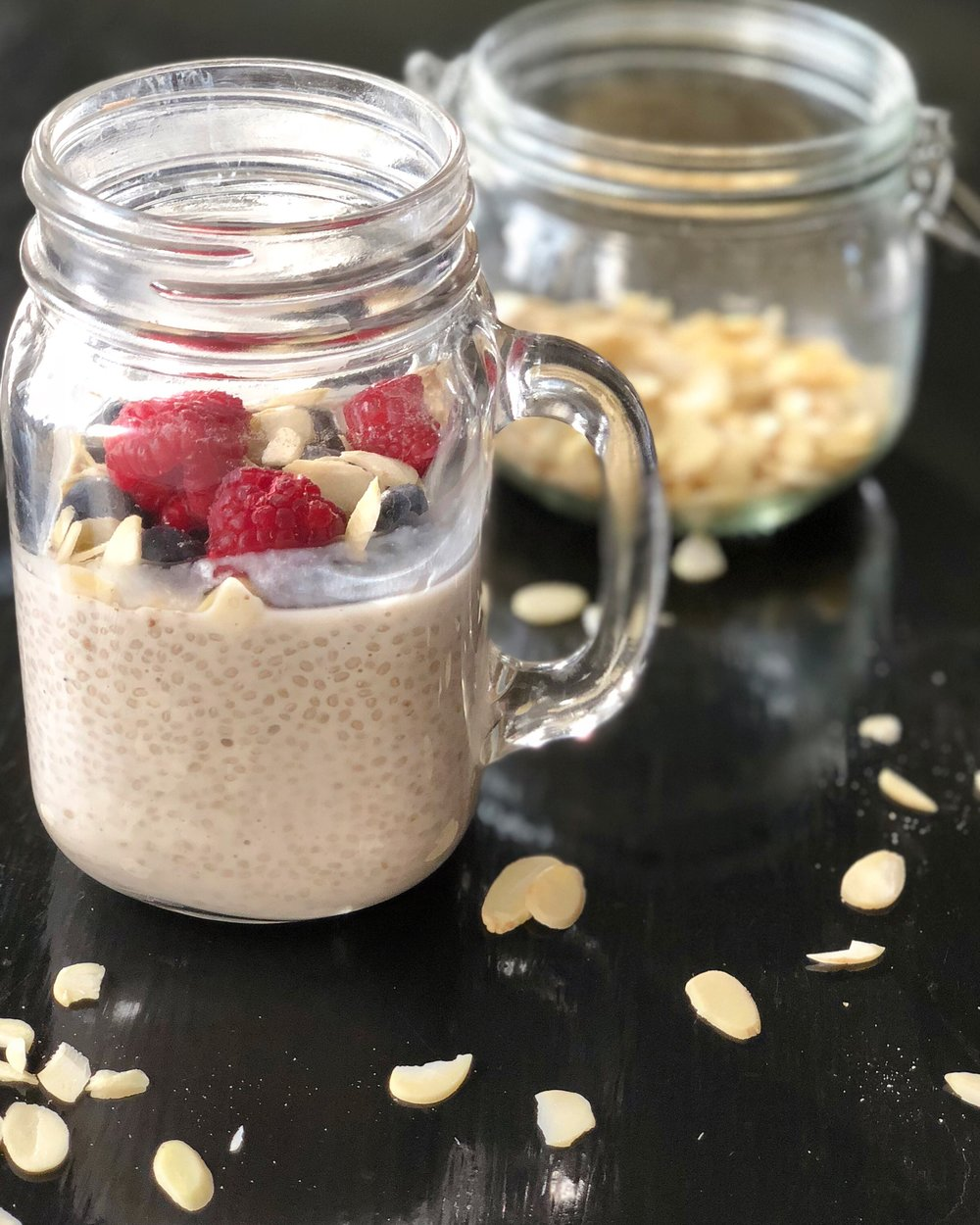 supreme protein chia seed pudding