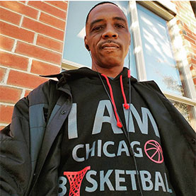 4:00pm // Lefty Boyd of I AM CHICAGO BASKETBALL &  Dr. Wesley Shannon & the Ismail B. Robinson Foundation -