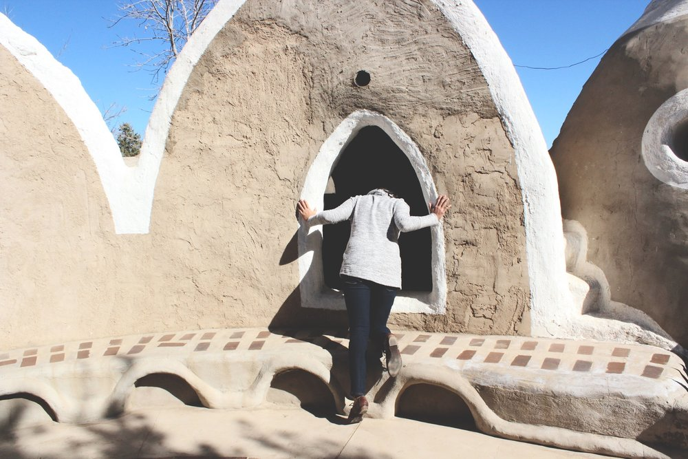 VISIT US - Experience SuperAdobe in person