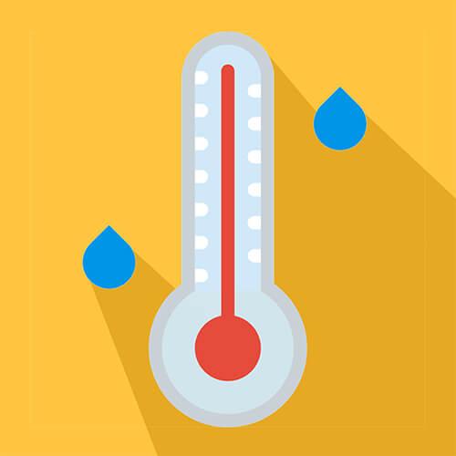 Température et humidité relative