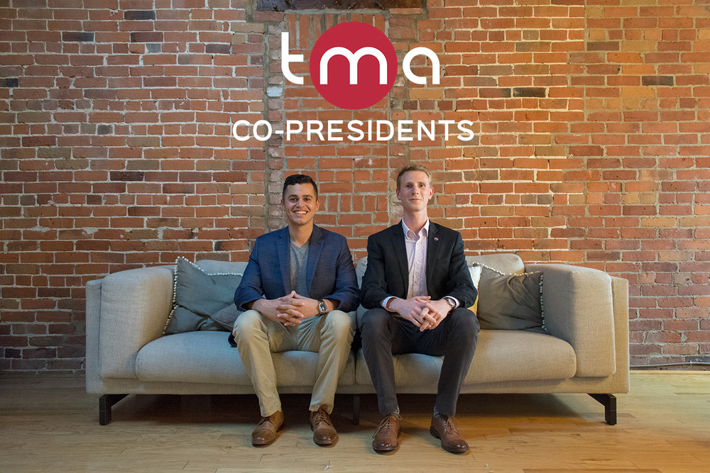 De gauche à droite:  Ben Lidzbarski  (Co-Président),  Andrew MacPhie  (Co-Président)