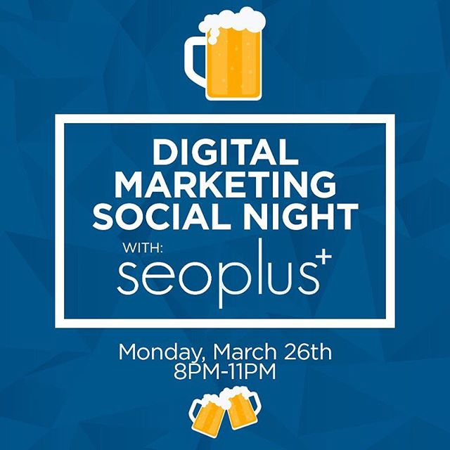 ICYMI: To cap off an amazing 5-week Digital Marketing workshop series we will be heading down to the glorious @fnsottawa for some drinks and snacks after the last workshop. Come join us tonight for an awesome opportunity to interact with the wonderful staff at @seoplus. Didn't get to attend a workshop? Don't sweat it! If you're a student or work at seoplus+ then come on out. We can't wait to see all of your beautiful faces there! #MakeYourMark