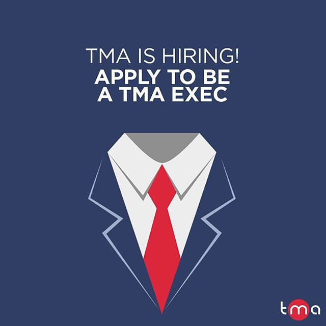 ICYMI: Applications are now open for the TMA exec team for 2018-19! Think you've got what it takes to be a part of TMA? @christineseg & @davidbellocchi want YOU to apply! For information on the available positions and the application form, check out the event page on facebook (link in bio)! #MakeYourMark _________________________________________ #opportunity #job #executive #team #telfer #students #commerce #exciting #apply