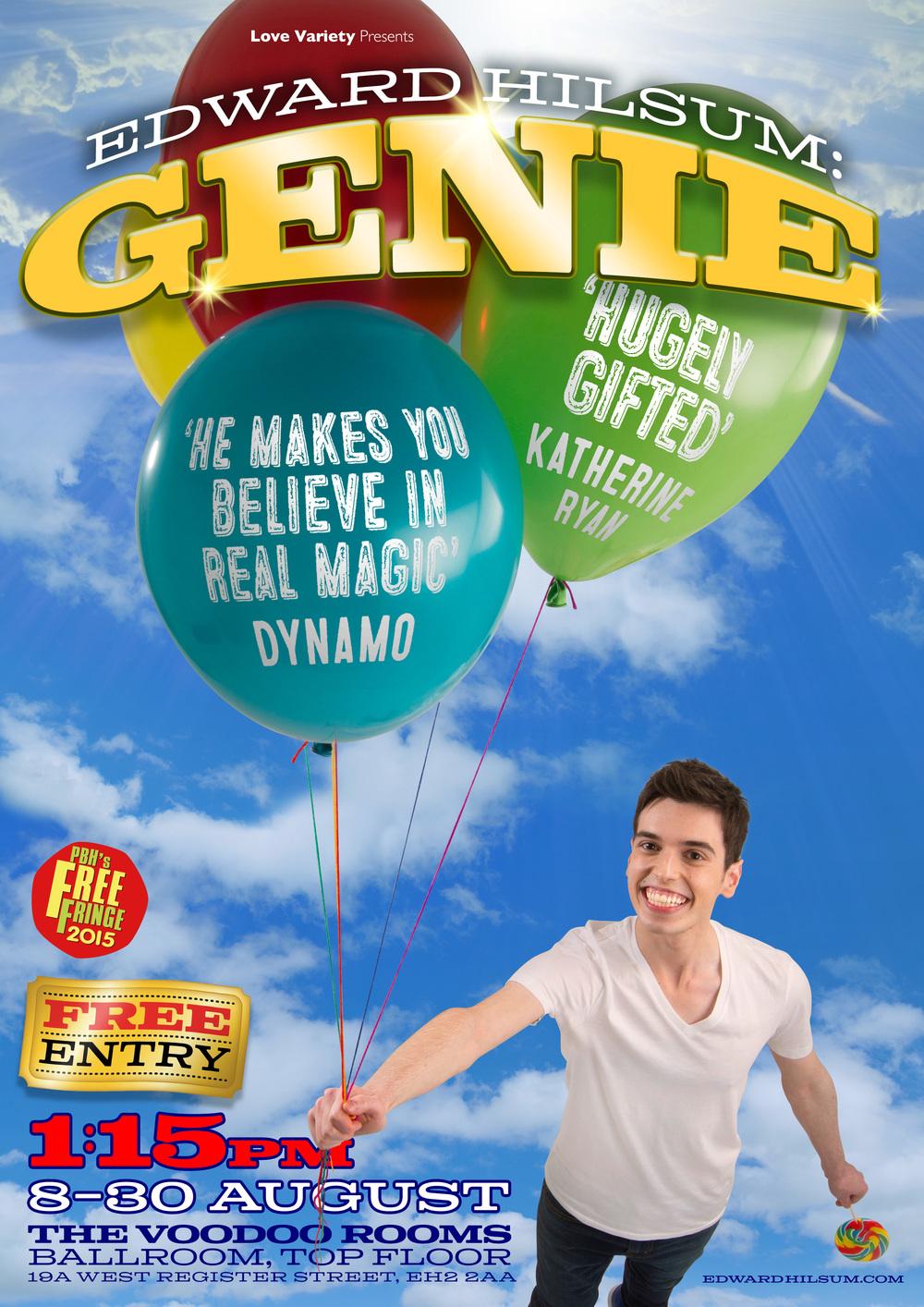 Edward Hilsum: Genie