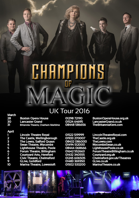 Champions Of Magic Spring Tour 2016