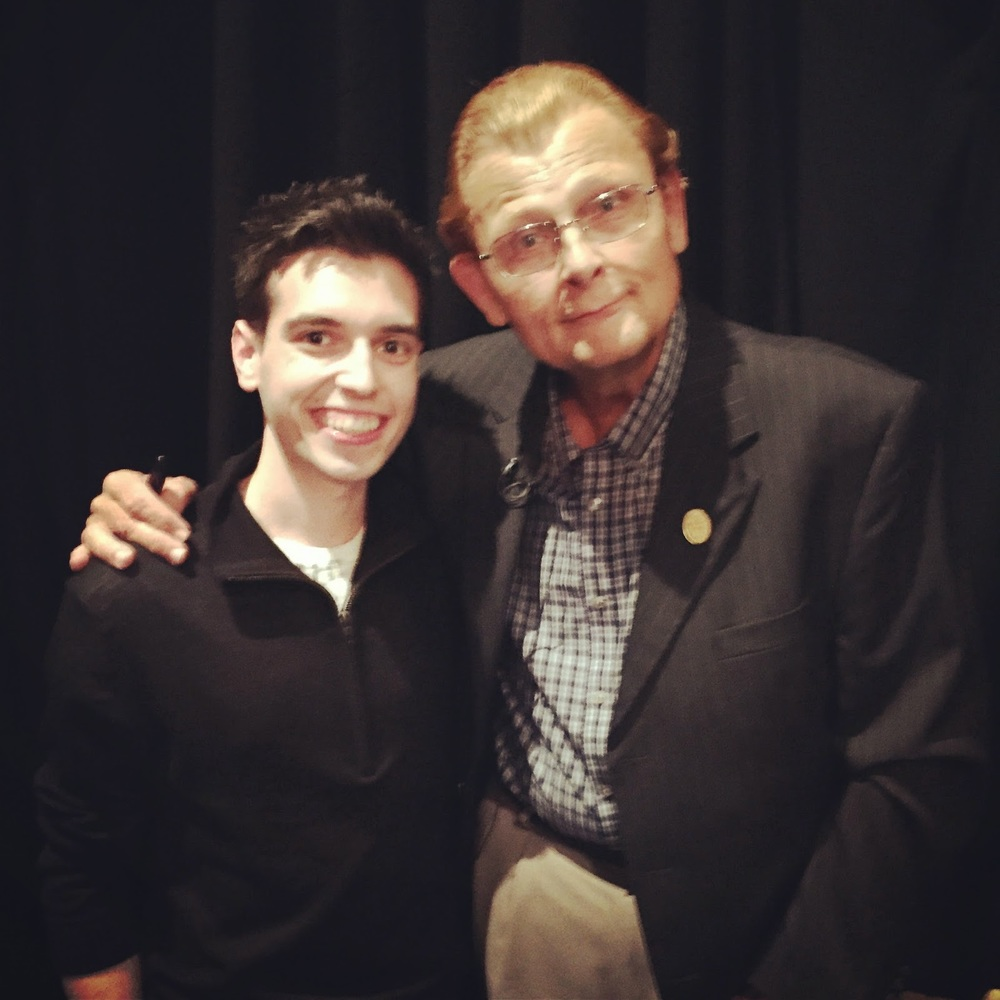 With Tom Mullica.