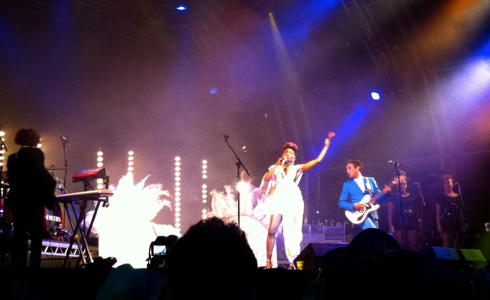 The Noisettes.