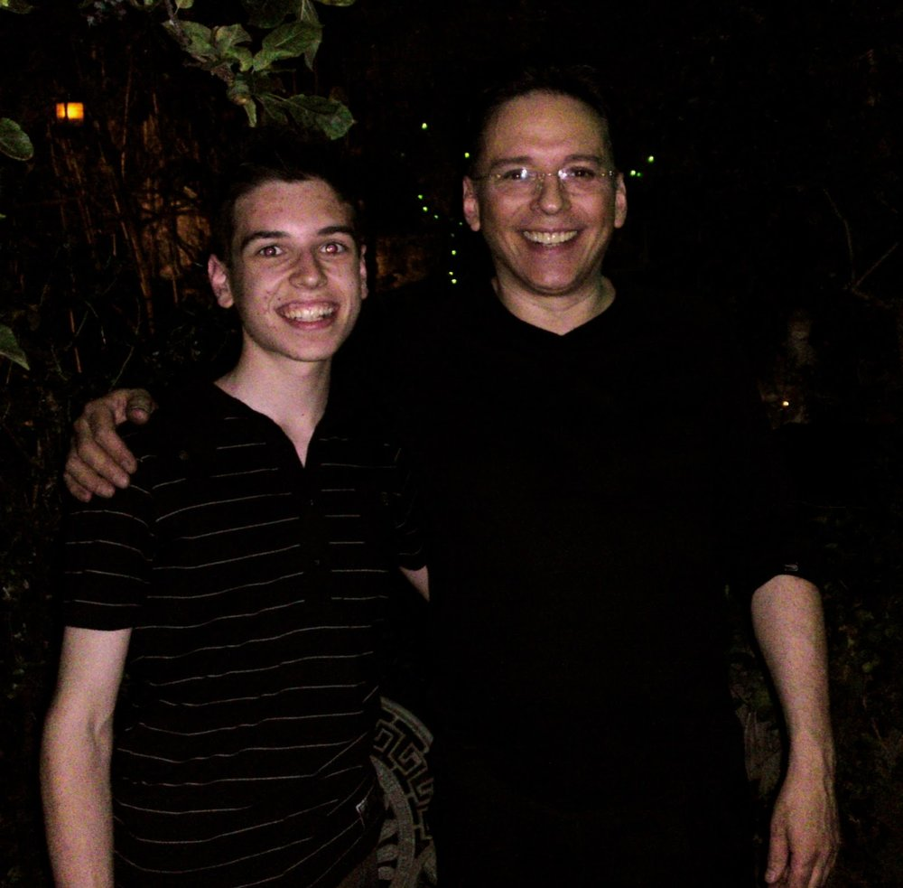 With Simon Drake after visiting his House of Magic back in 2009!