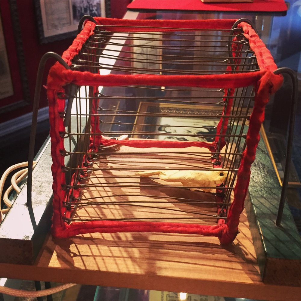 Harry Blackstone's Vanishing Bird Cage.JPG