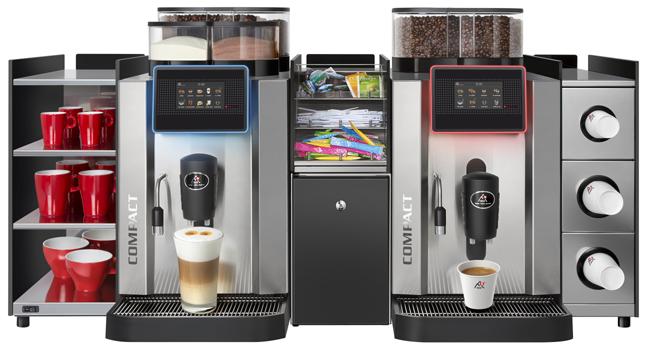 Büro +Teeküche - Profiqualität für 140 Tassen pro Stunde