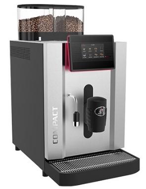 Vollautomat140 - 140 Tassen pro StundeTouchscreen für bis zu zehn Produkte.Bezug von Doppelprodukten.Die hochwertige Brühgruppe mit einer Brühkammer, die bis zu 15.5 Gramm Kaffeepulver fasst, garantiert eine optimale Extraktion des Mahlgutes und gewährleistet somit hervorragende Kaffeequalität.Bis zu 175 mm Auslaufhöhe.Modularer Aufbau der Kaffeemaschine für kurze Interventions- und Wartungszeiten.Schweizer Qualität – Swiss Made.