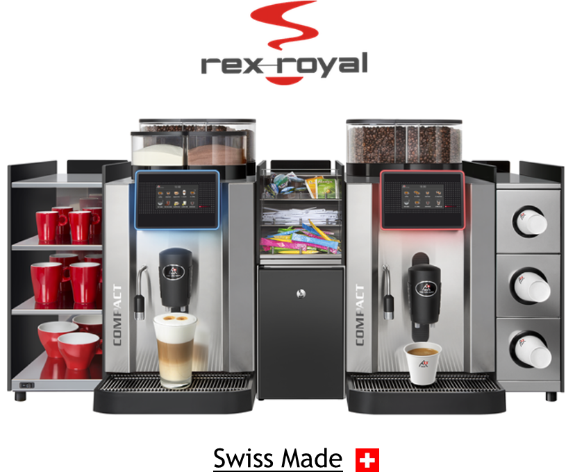 Kaffee-Vollautomaten  - offizieller Vertriebs- und Servicepartner vonRex-Royal Kaffee-Vollautomaten
