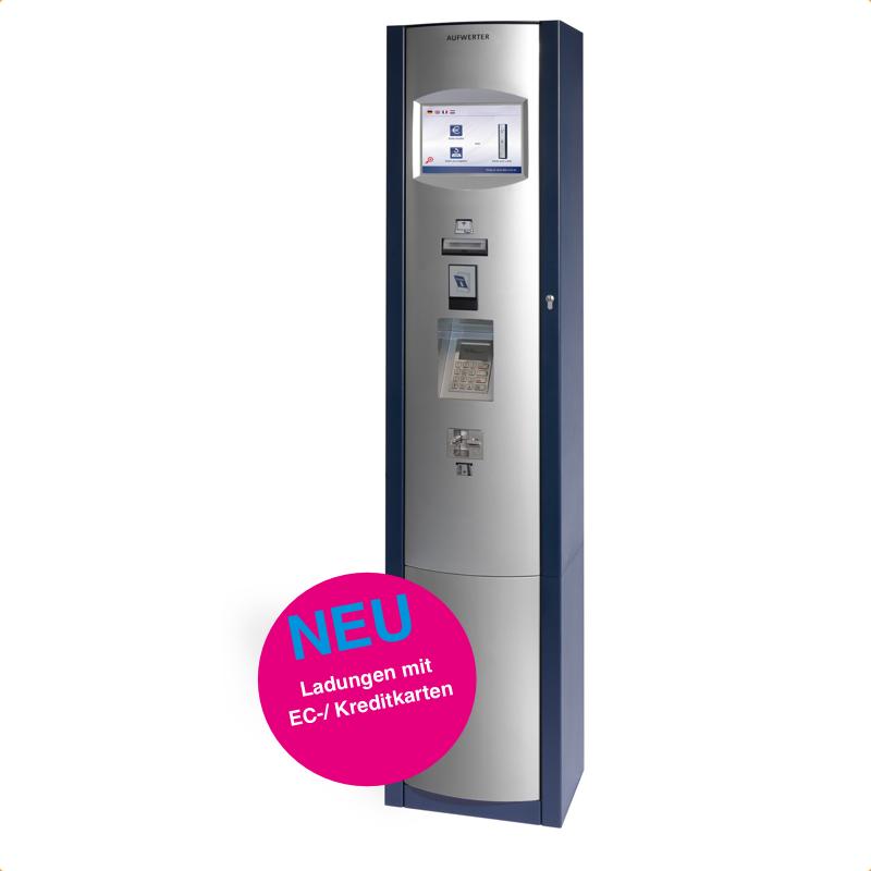 Absolut bargeldlos - moderne Ladestationen für EC-Kreditkarten...