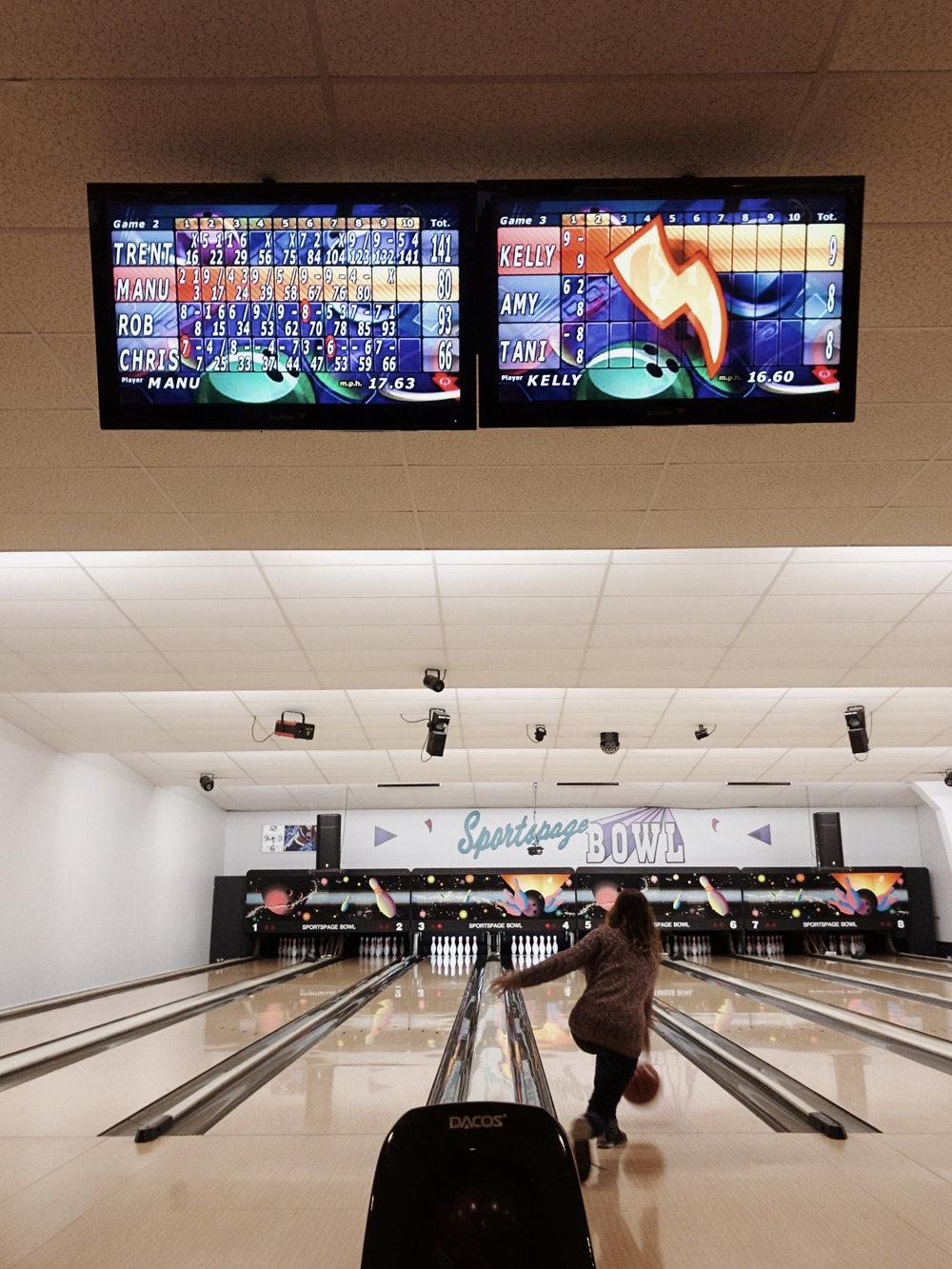 Bowling Time.