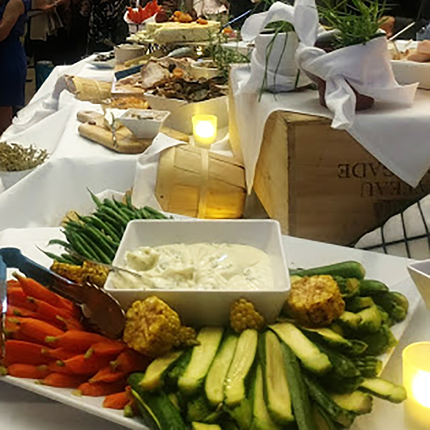 Buffet closeup with candles.jpg