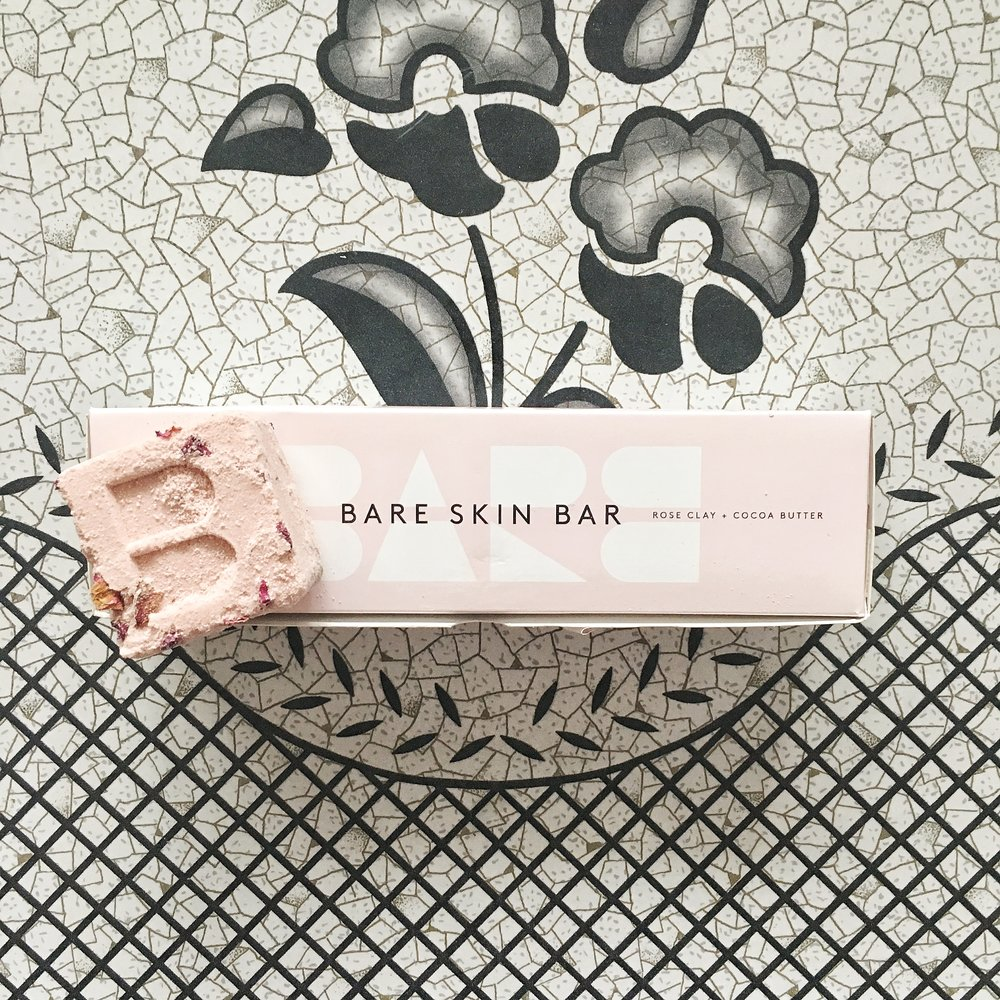 BareSkin Bar Calming Rose Clay Bath Bombs - I'm in love with these Vancouver, BC made bath bombs that soothe your skin with rose clay and moisturize it with cocoa butter. Watching the bath bombs effervesce and leave rose petals dancing along the waves of the water make bath time extra luxurious.