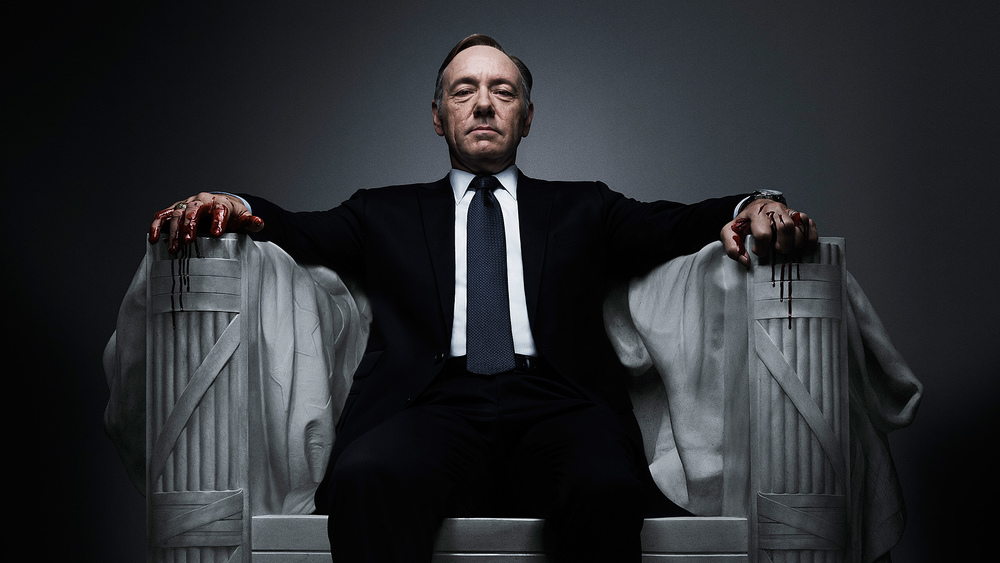 Frank Underwood knows exactly what the greater good is...