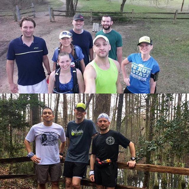 We #HATRs divided and conquered the trails this morning. A crew hit our home trails at #SouthsideTrails at #memorialparkhouston while others were able to #explorehouston #trails at #lakehoustonwildernesspark who also enjoyed @skoutbackcountry bars!  Great to see you taking advantage of our local trails and perfect weather! #trailrunners #houstonrunning #ultrarunning #houstonareatrailrunners #trailrunninghouston #hatrgreencaps #bocotrucker #trailrun #runners