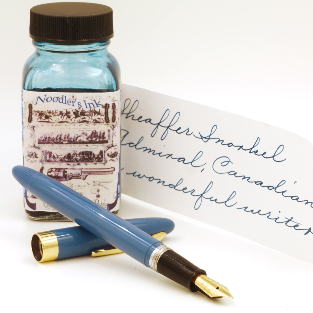 Sheaffer Snorkel Admiral in beautiful Pastel Blue.