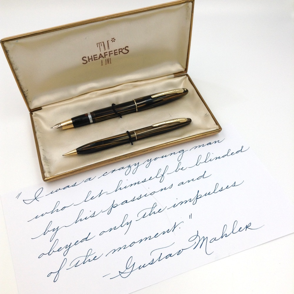 Sheaffer Sovereign II pen and pencil set