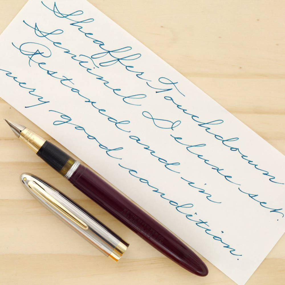 Sheaffer Touchdown TM Sentinel Deluxe Fountain Pen