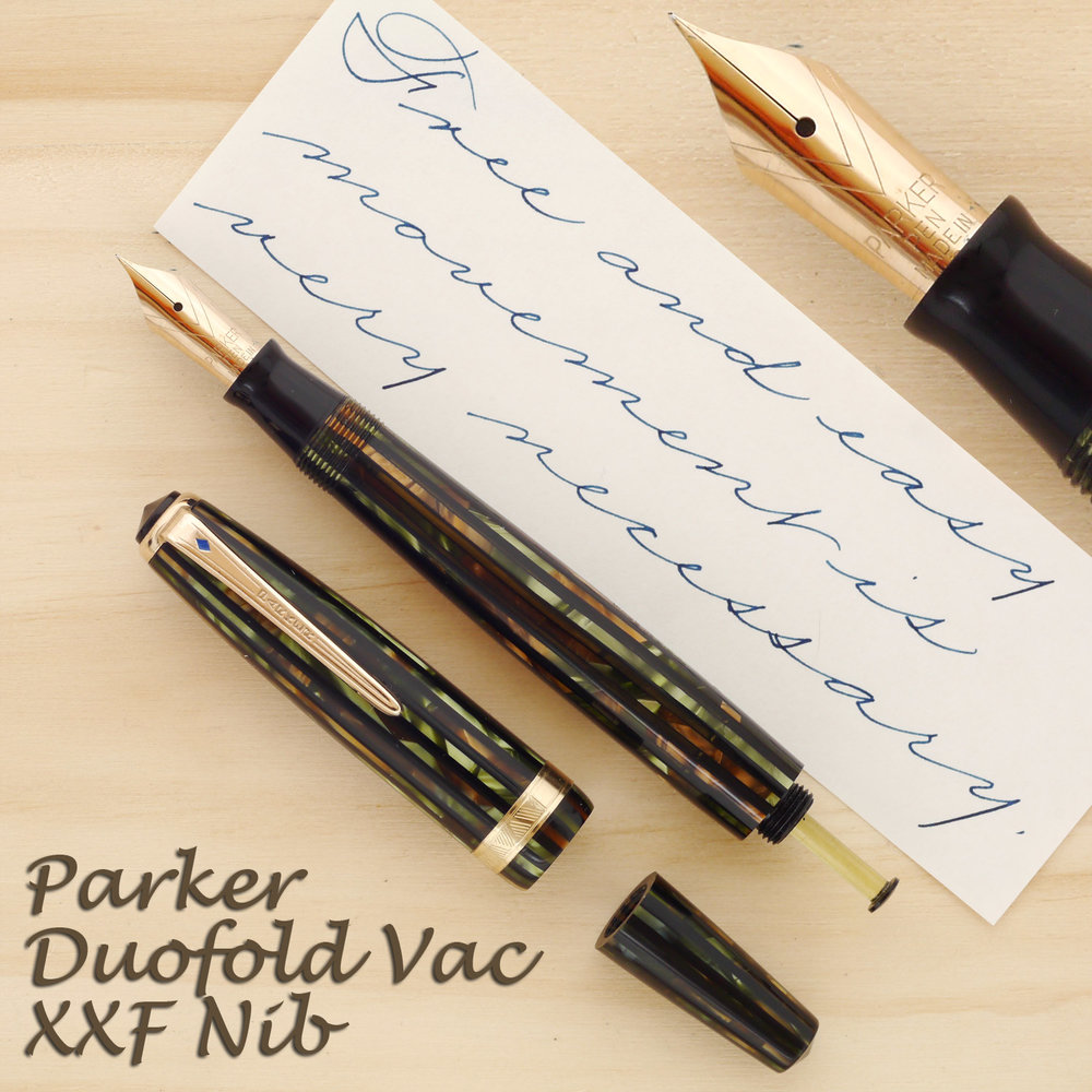 Parker Duofold Senior with a Vacumatic filler