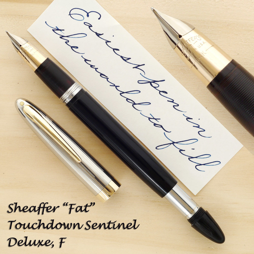 "Sheaffer ""Fat"" Sentinel Deluxe"