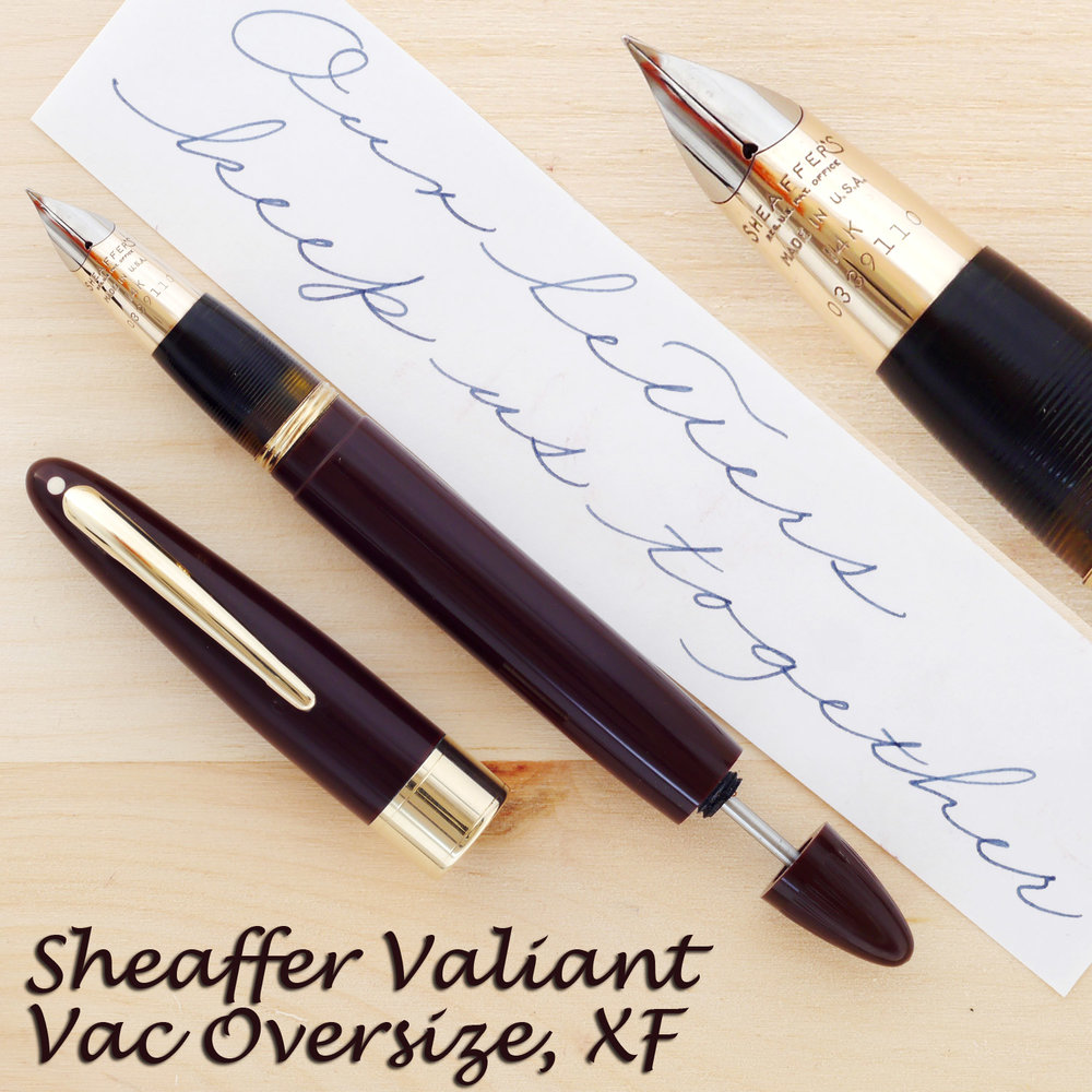 Sheaffer Valiant Vac Oversize, XF