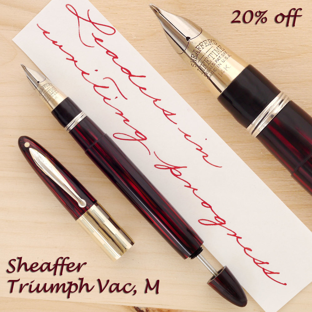 Sheaffer Triumph Vac, M