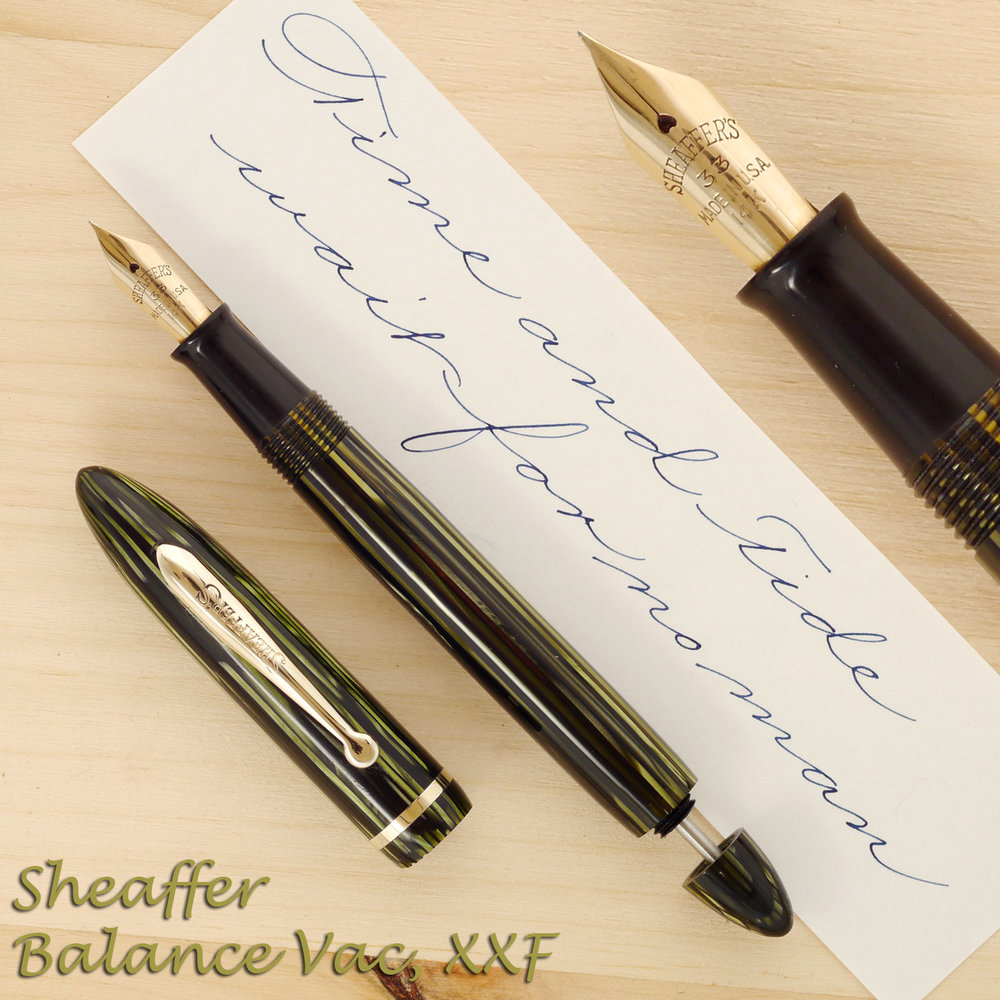 Sheaffer Balance Vac, Needlepoint