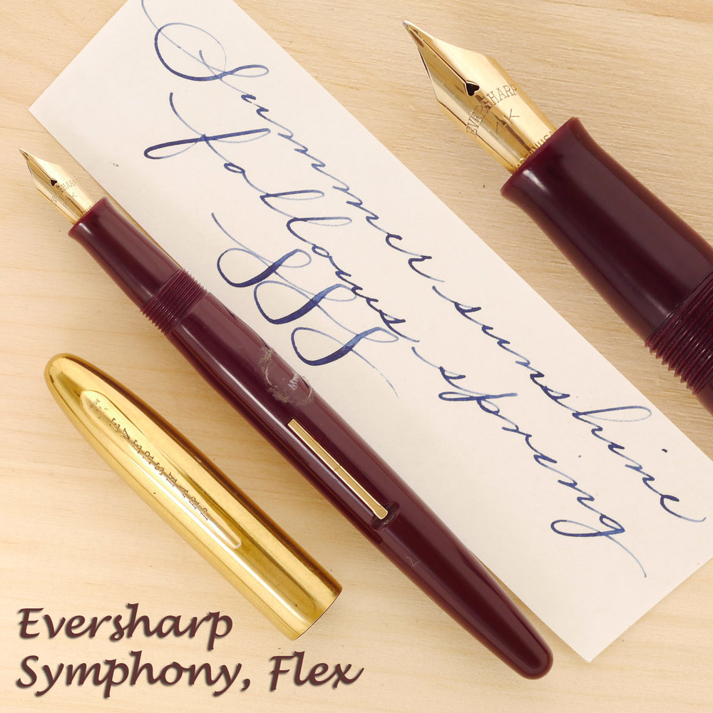 Eversharp Symphony Set, Flex nib