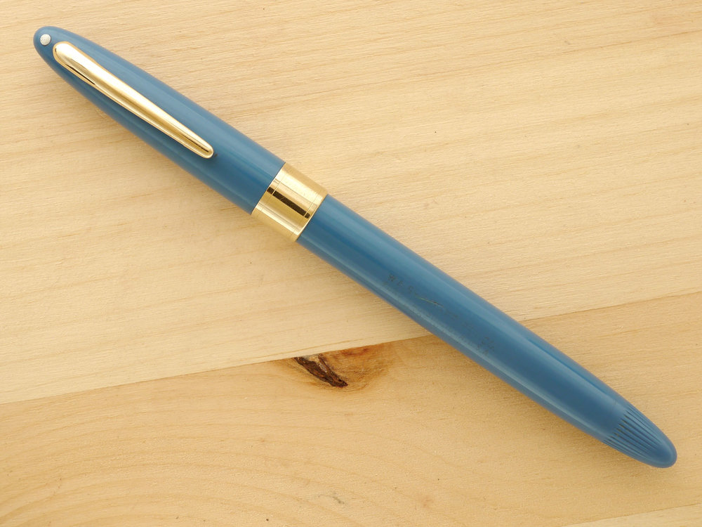 Sheaffer Snorkel Statesman Pastel Blue, XF, capped