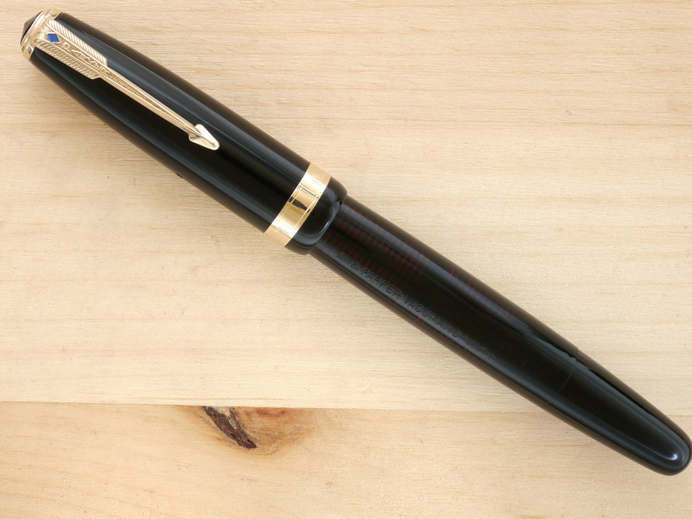 Parker Vacumatic Major, Black, F, capped