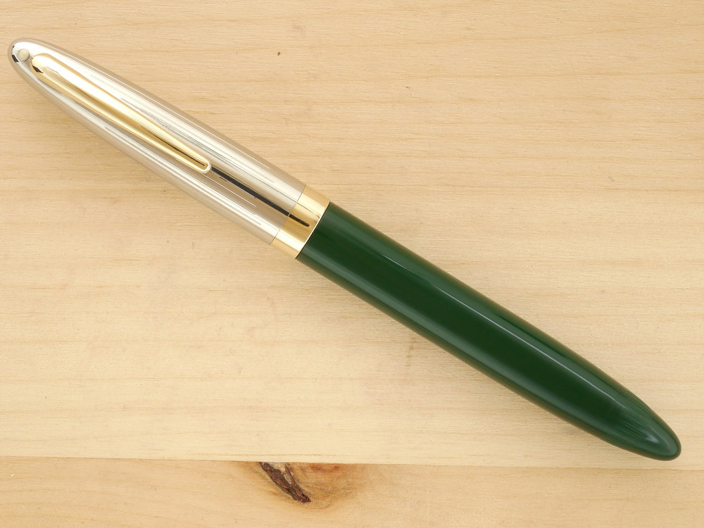 "Sheaffer ""Fat"" Touchdown Sentinel Deluxe, Needlepoint, capped"
