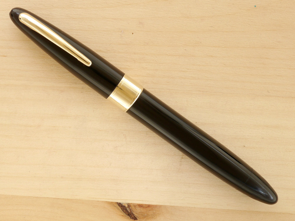 Sheaffer Triumph Valiant Vac Oversize, Black, XF, capped