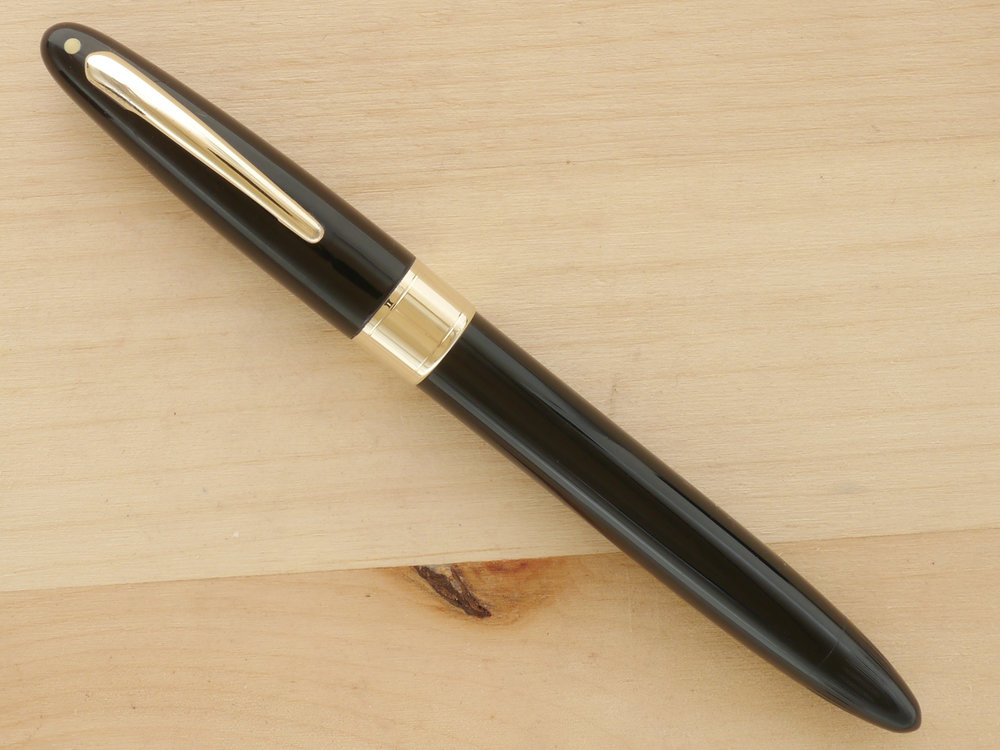 "Sheaffer ""Fat"" Touchdown, Black, XXF, capped"