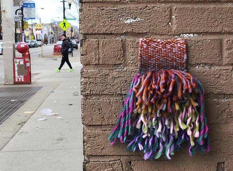 Cathy Quintero Fiber Street Art